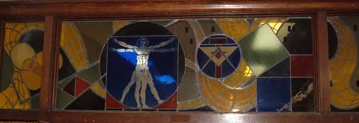 Image of stained glass window
